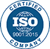 ISO 9001:2015 Certified.